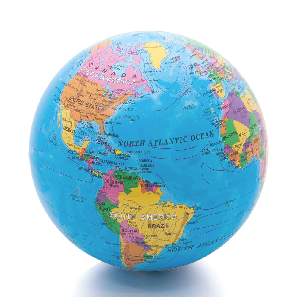Glowing Rotating Globe (2 Color)