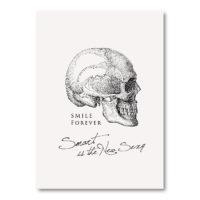 TWY180113_科學明信片 - 頭骨 (Smile Forever) Science Postcard - Smile Forever (Skull)